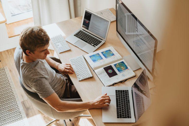 Digital Asset Estate Planning on Computer