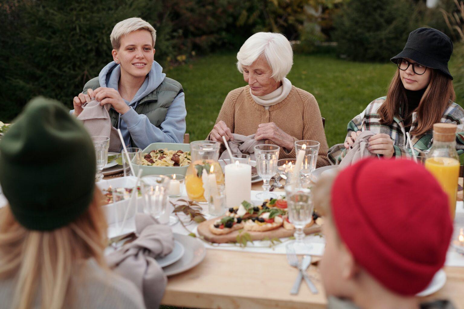 Family estate planning meeting