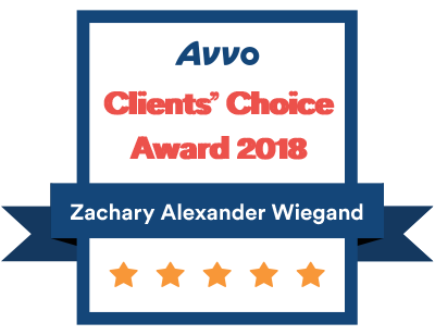Zachary-A-Wiegand-Avvo-Choice-Awards
